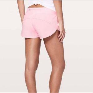 Lululemon MIAMI PINK Speed up shorts 2.5